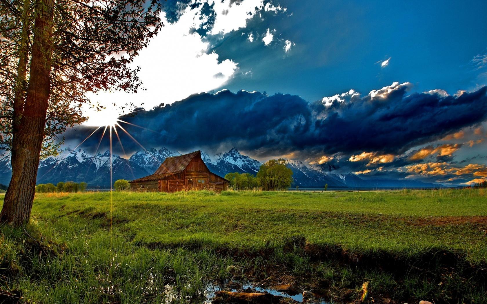 Mountain Cabin Wallpapers   1680x1050   891445 1680x1050
