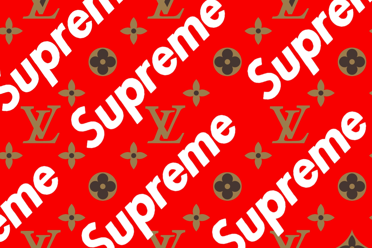 Louis Vuitton Supreme Live Wallpaper