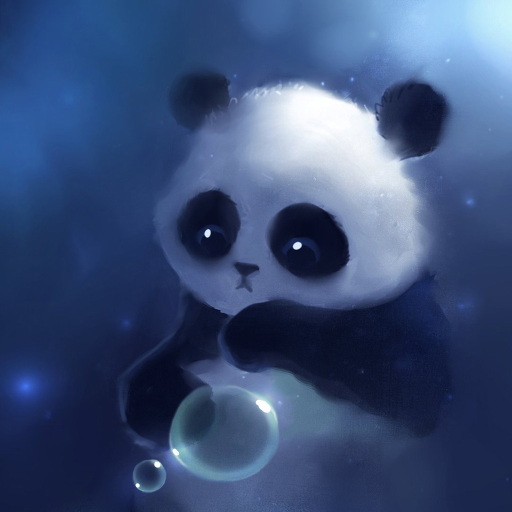 Cute panda ipad wallpaper ipad backgrounds ipad wallpapers 1024x1024