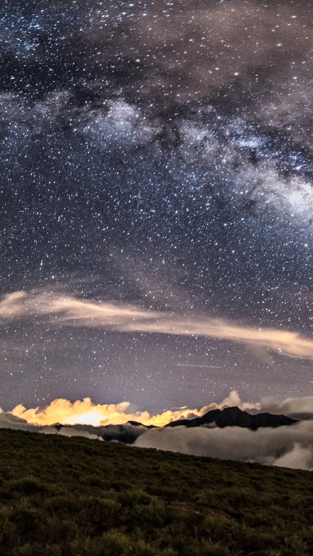 Milky Way on the Night Sky HD Wallpapers 4K Wallpapers 1080x1920
