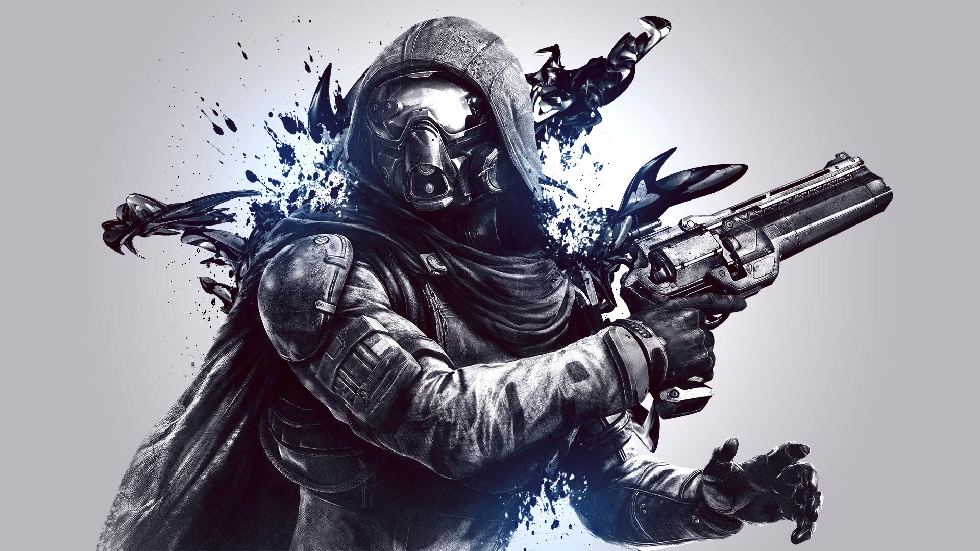 Wallpaper destiny hunter 1920x1080