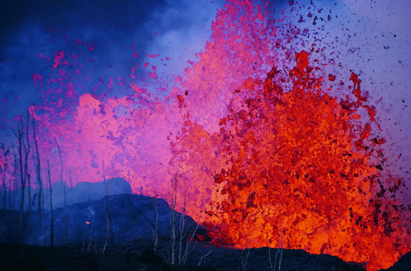 Nature Wallpapers for Desktop Volcano Wallpaper Widescreen 1600x1055