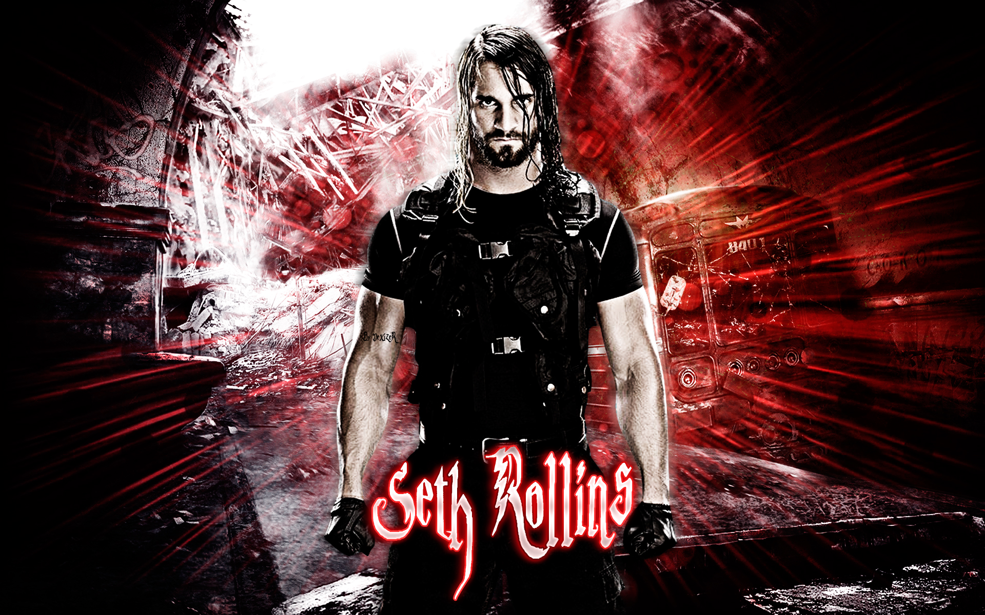 Seth rollins wallpapers wallpapersafari - Download pictures of the shield wwe ...