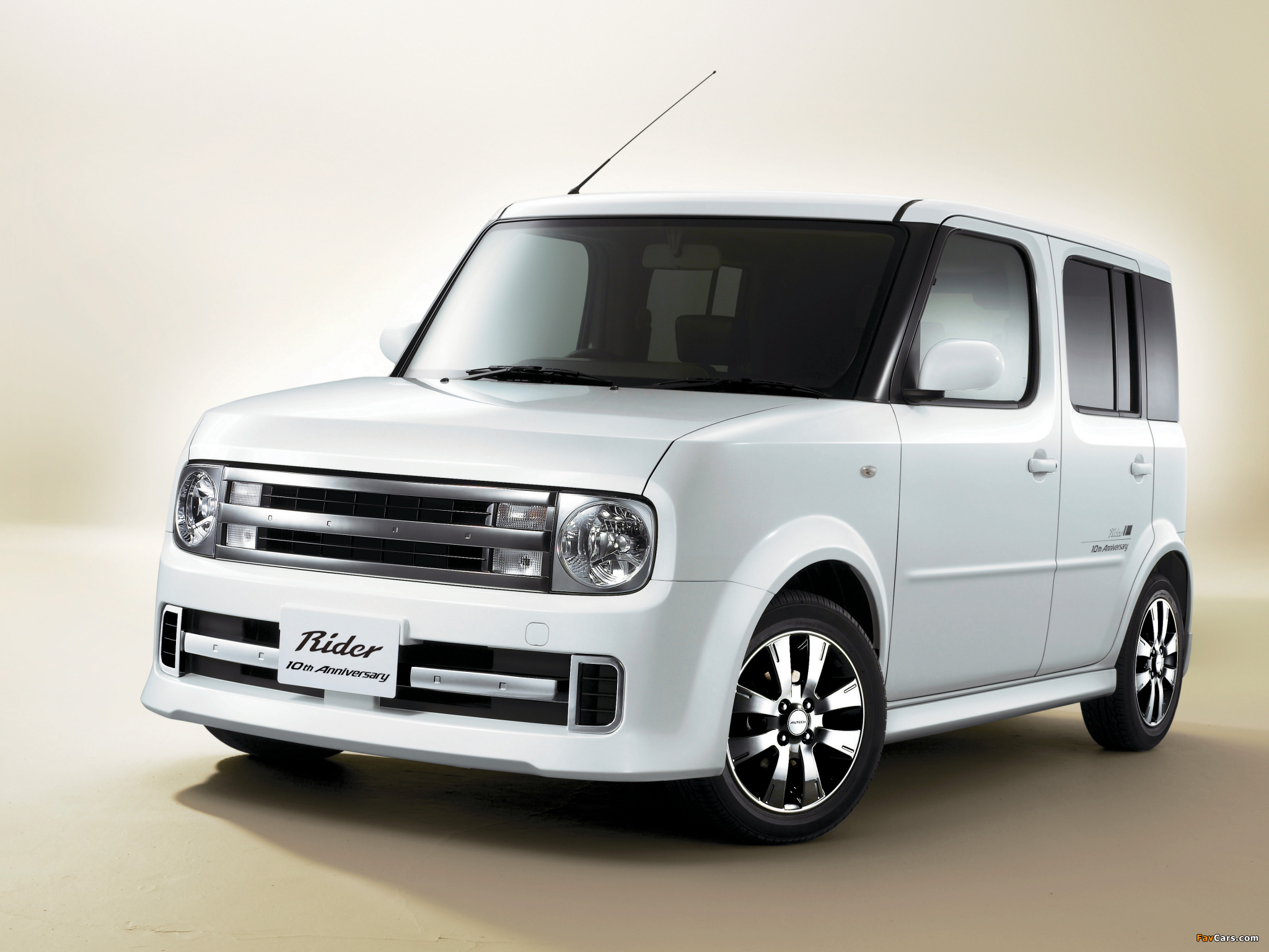 Autech Nissan Cube Rider 10th Anniversary Z11 2007 wallpapers 2048x1536