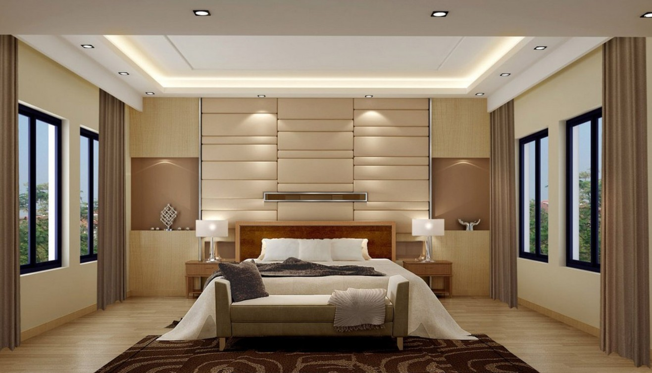 Feature Walls On Bedroom With Dark Blue Bedroom Feature Walls Ideas 1317x755