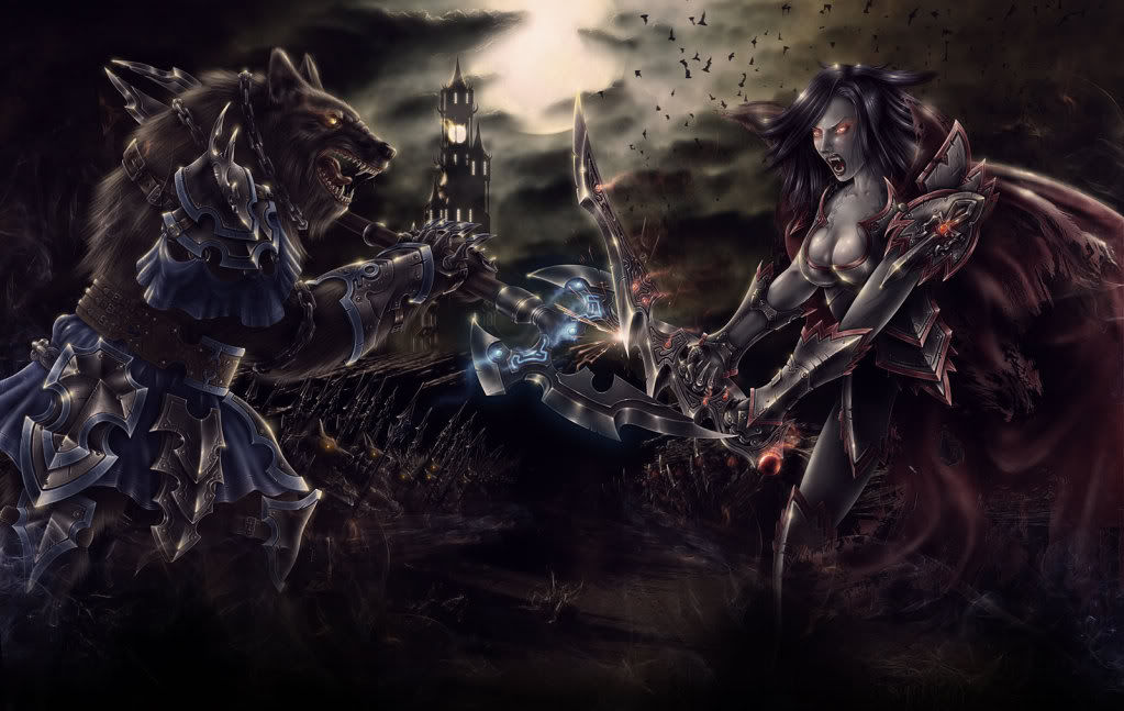 [48+] Ancient Werewolf Wallpaper on WallpaperSafari