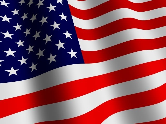 3D US Flag Screensaver   Information Download Screenshot about 640x480