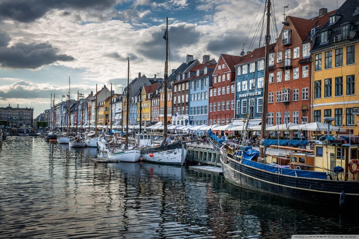 Copenhagen Denmark 4K HD Desktop Wallpaper for 4K Ultra HD TV 1152x768