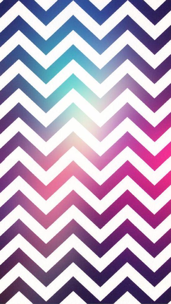iPhone 5 Chevron Wallpaper 550x976