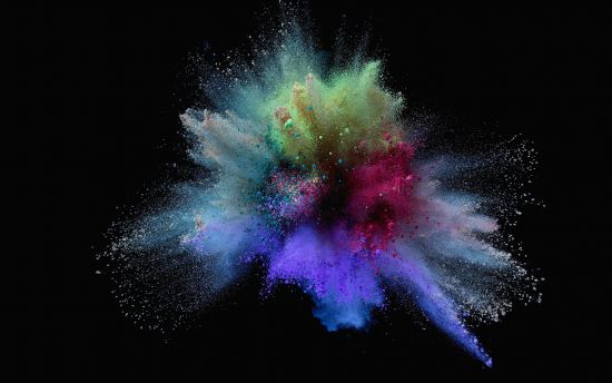 Color Splash Creative HD Beguiling Wallpaper HD Wallpaper 550x344