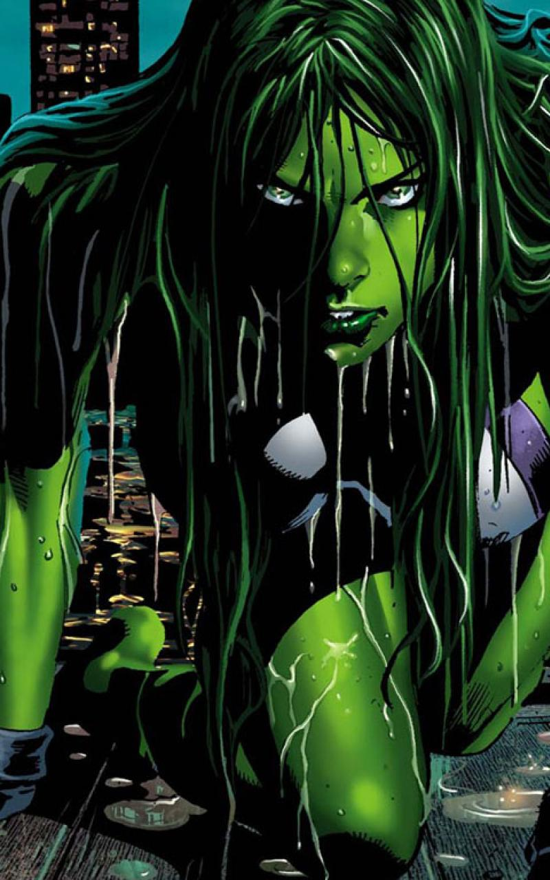 She Hulk Wallpaper Desktop 800x1280