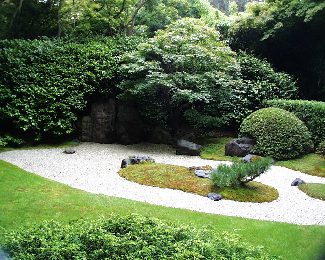 Zen Garden Wallpaper -...