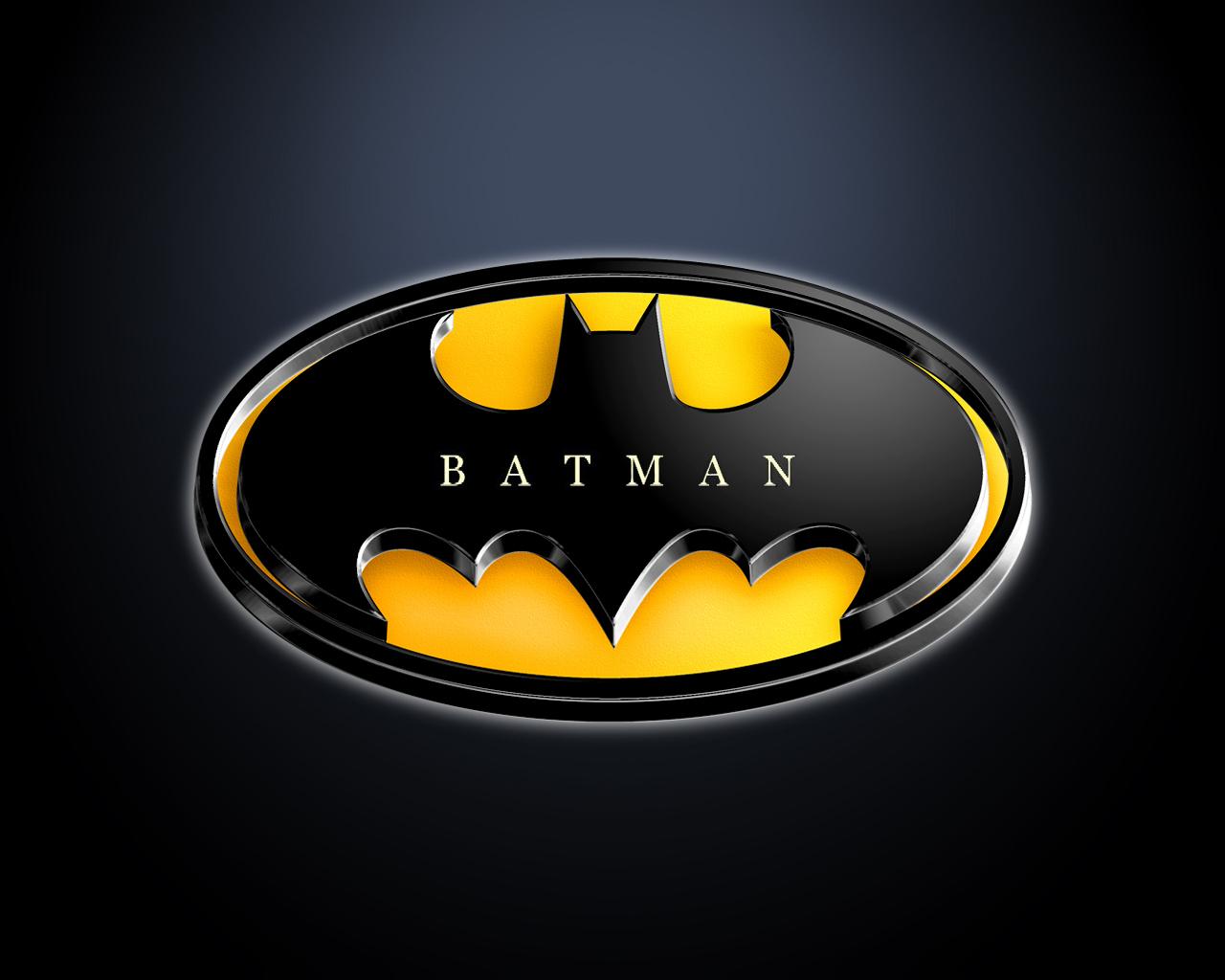 Batman Logo   Batman Wallpaper 9683803 1280x1024