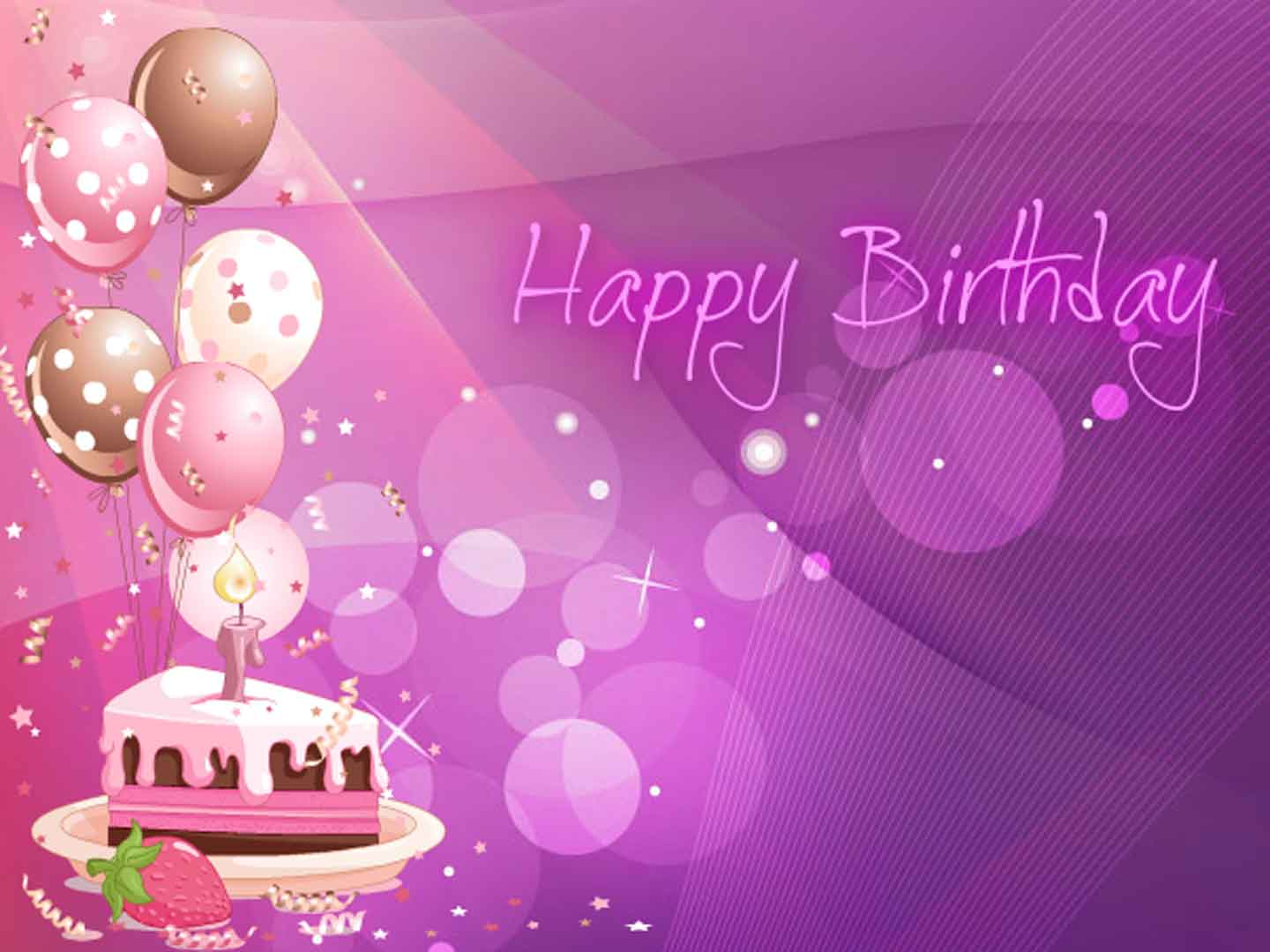 Happy Birthday Wallpapers Image 1440x1080