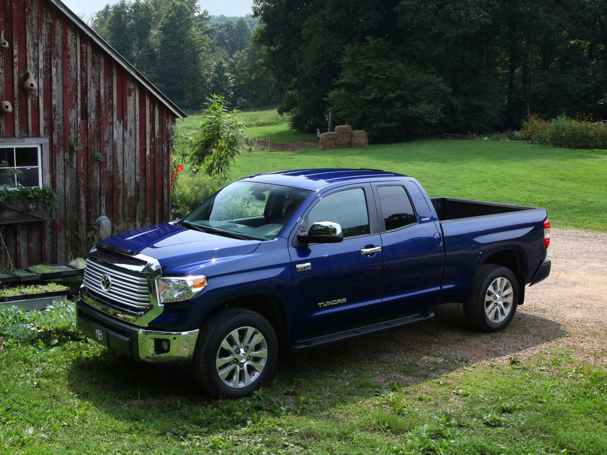 2014 Toyota Tundra Double Cab Limited pickup g wallpaper 2048x1536 2048x1536