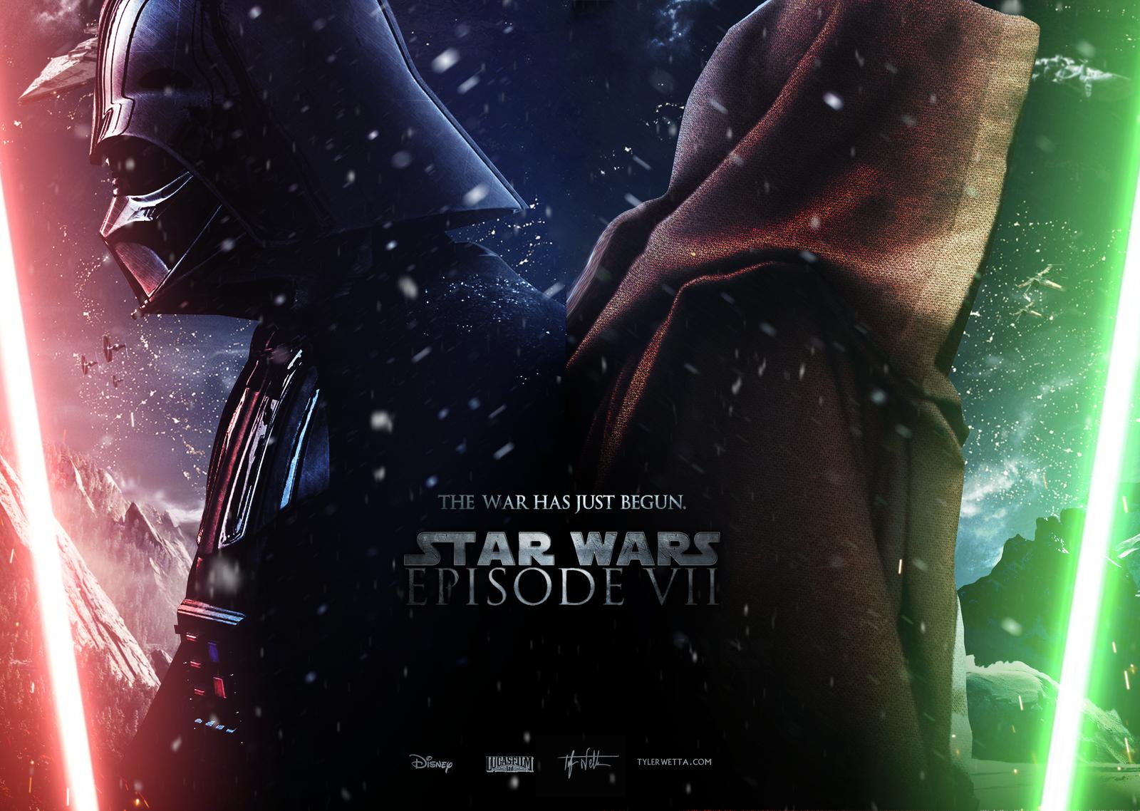 Star Wars Episode VII   Wallpaper by AncoraDesign 1600x1138