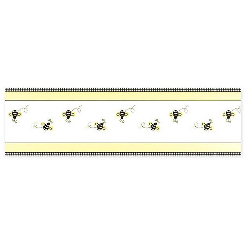 Sweet Jojo Designs Bumble Bee Wallpaper Border Reviews Wayfair 500x500