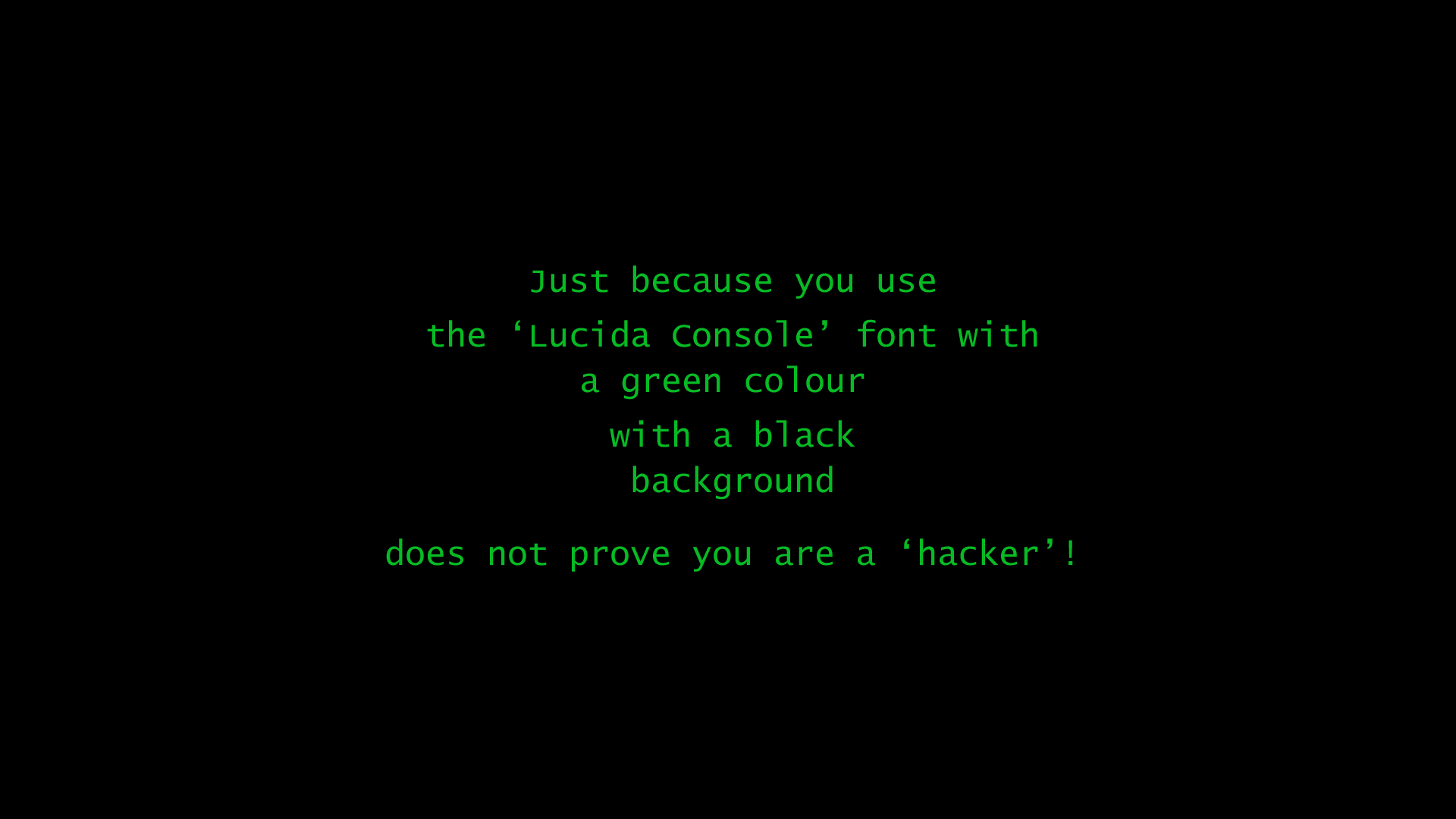 Hacker Black Green computer wallpaper 1920x1080 69646 1920x1080
