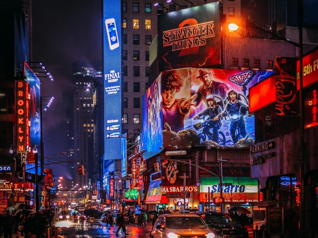 Broadway New York City wallpaper in 1024x768 resolution 1024x768