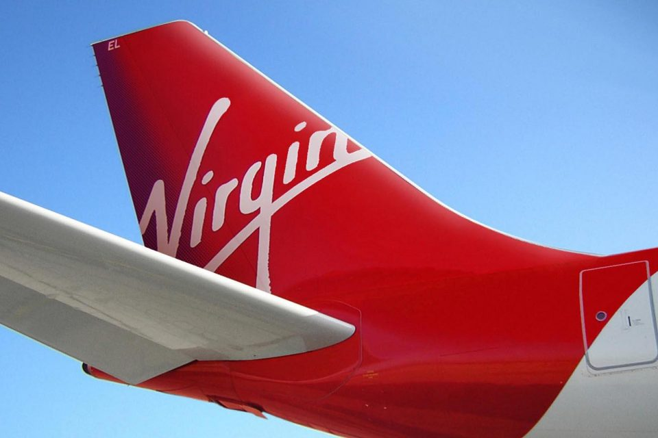 Rear End Of The Virgin Aircraft Wallpaper PaperPull 960x640