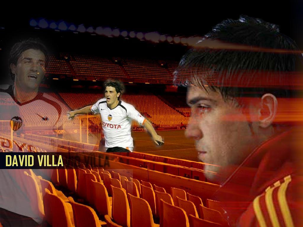David villa Wallpapers Bureaublad achtergronden van David villa 1024x768