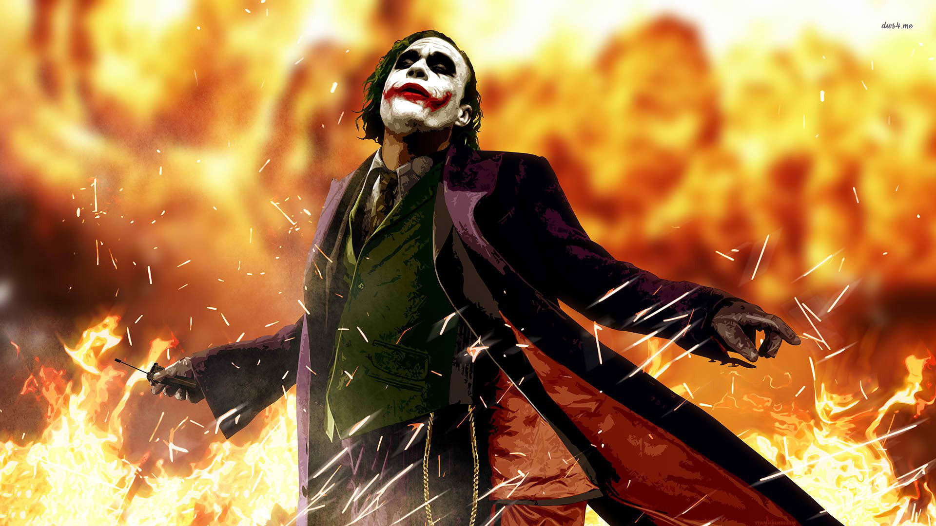 Joker The Dark Knight HD Wallpaper Movies Wallpapers 1920x1080