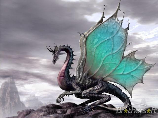 Legendary Dragons Screensaver Legendary Dragons Screensaver 640x480