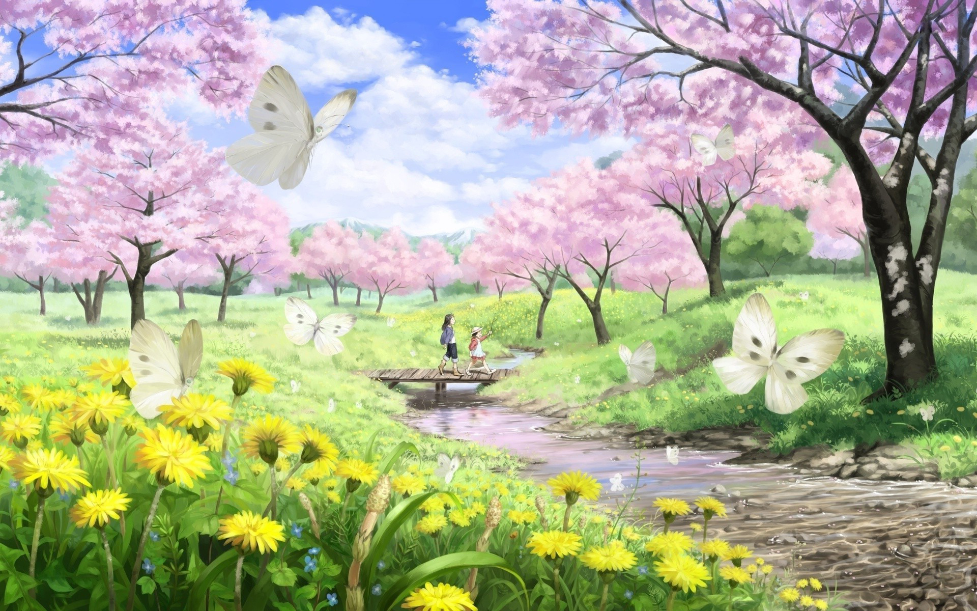 Spring Wallpapers HD download 1920x1200