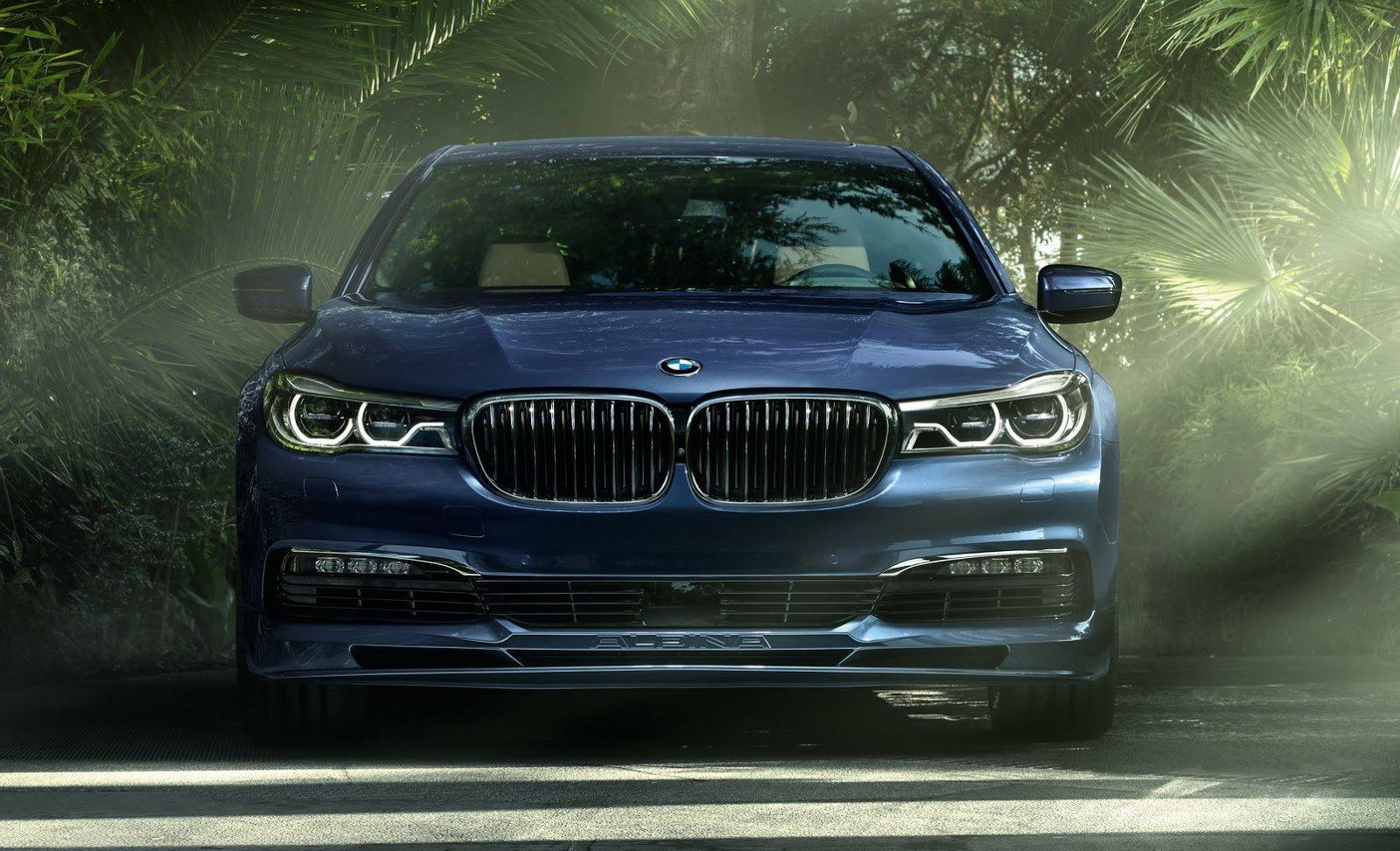 BMW Alpina B7 xDrive cars sedan blue modified wallpaper 1600x973 1600x973