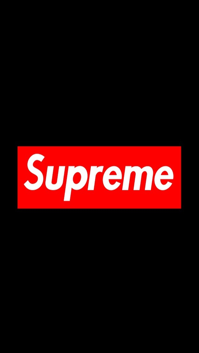 50] Supreme Wallpaper on WallpaperSafari 640x1136