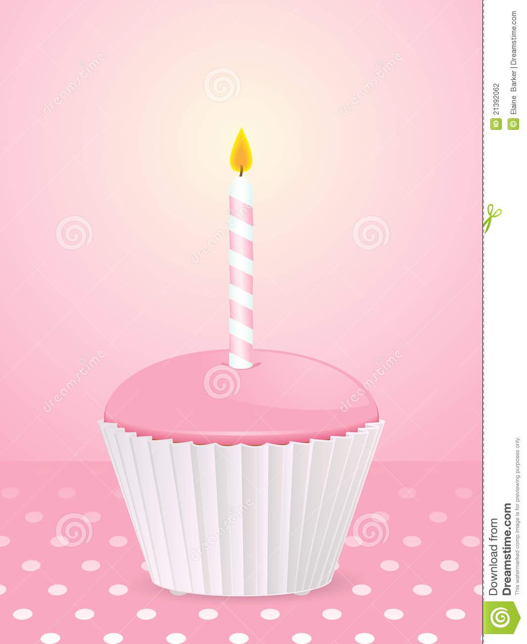 Cupcake Wallpaper: Birthday Cupcake Wallpaper