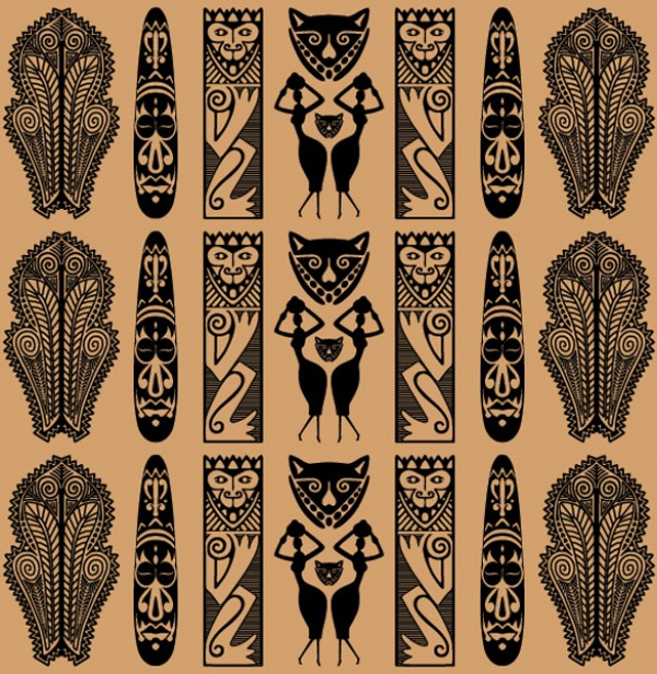 African Tribal Wallpaper - WallpaperSafari