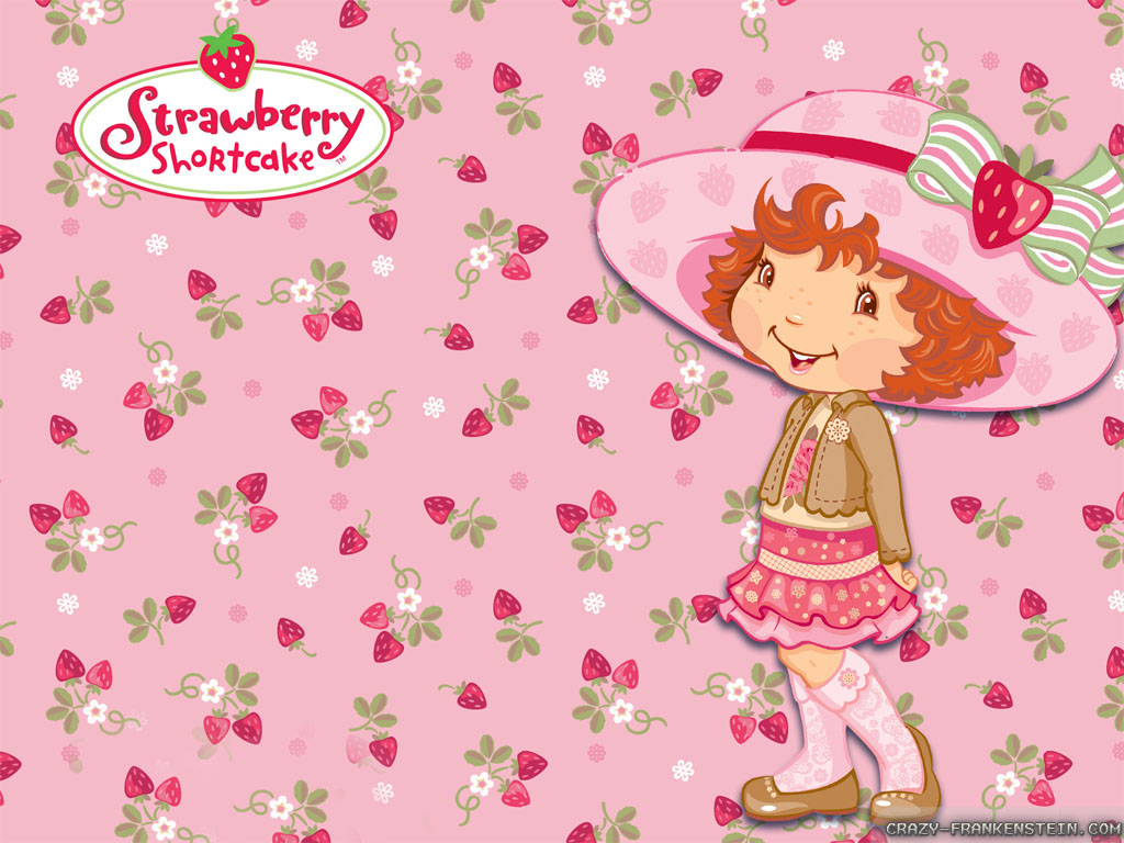strawberry shortcake desktop wallpaper wallpapersafari