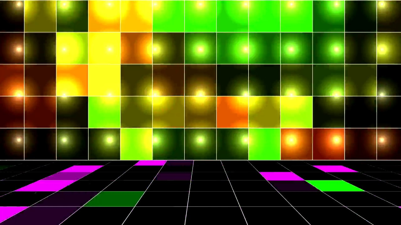 Video Background Stage DanceFloor HD 1080p 1280x720