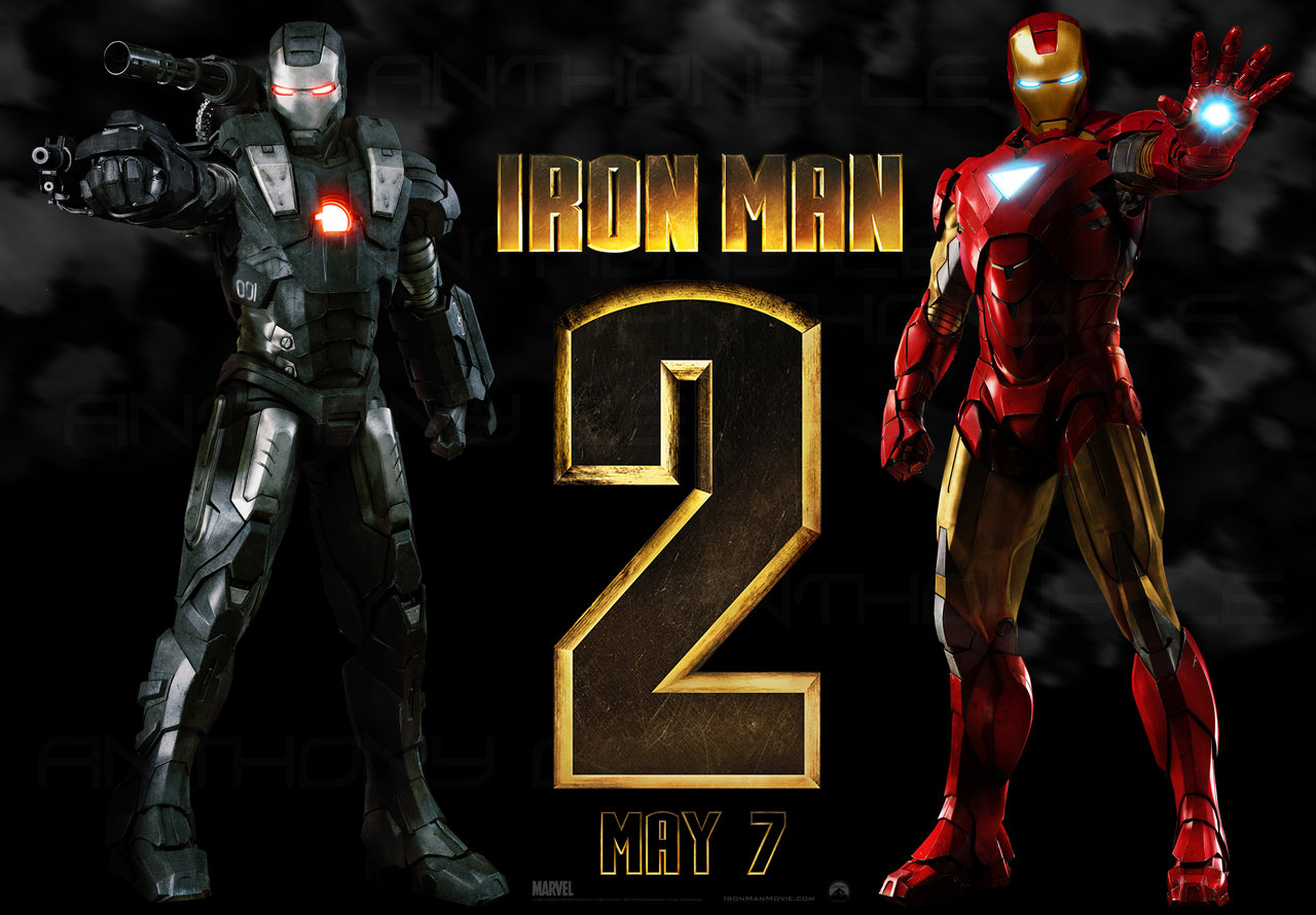 New Iron man 2 Wallpaper by Masterle247 1280x890