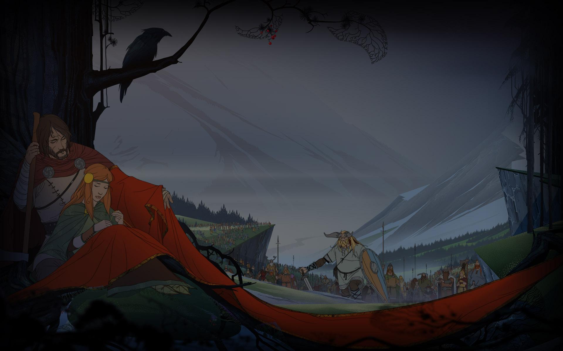 The Banner Saga   Steam Wallpaper   The Banner 1920x1197