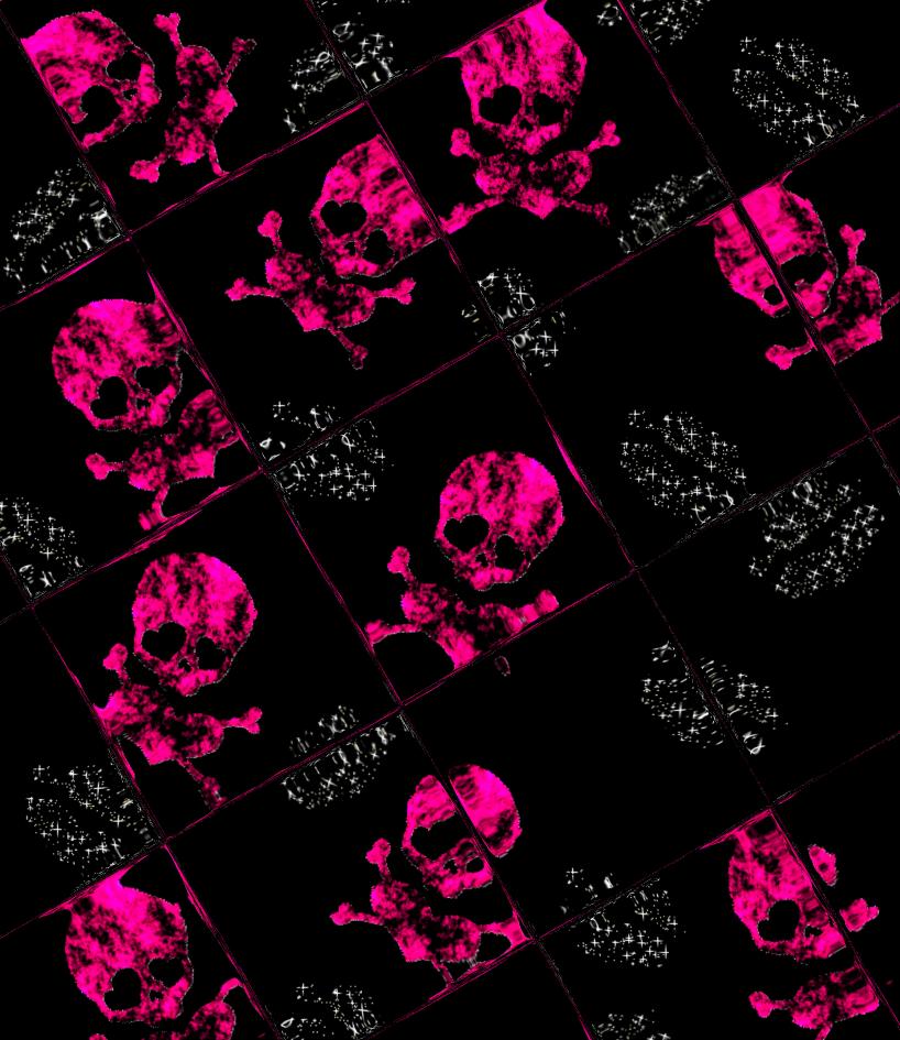 barbaraaldrettedeviantartcomartpink skull wallpaper 02 99009352 818x945