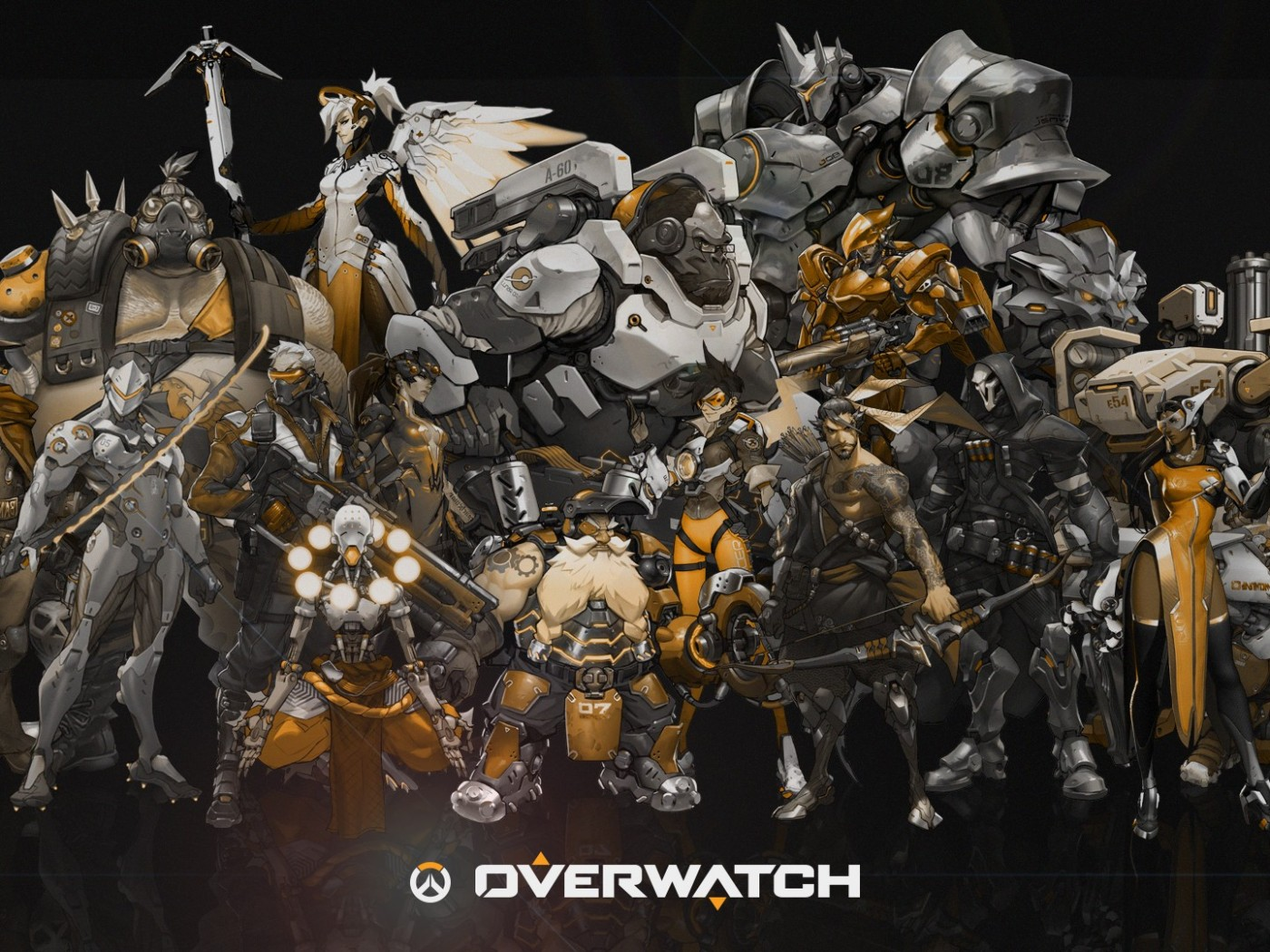 Overwatch Video Games Wallpapers HD Desktop and Mobile Backgrounds 1400x1050