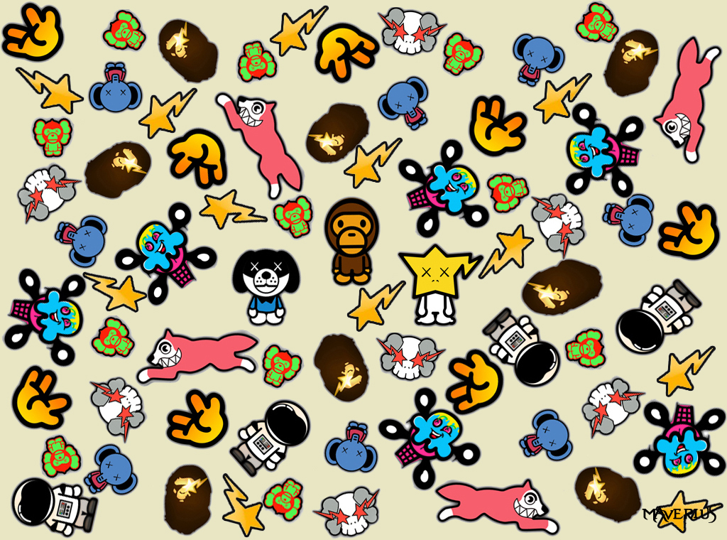 Bathing Ape Wallpaper by Maverius 1024x760