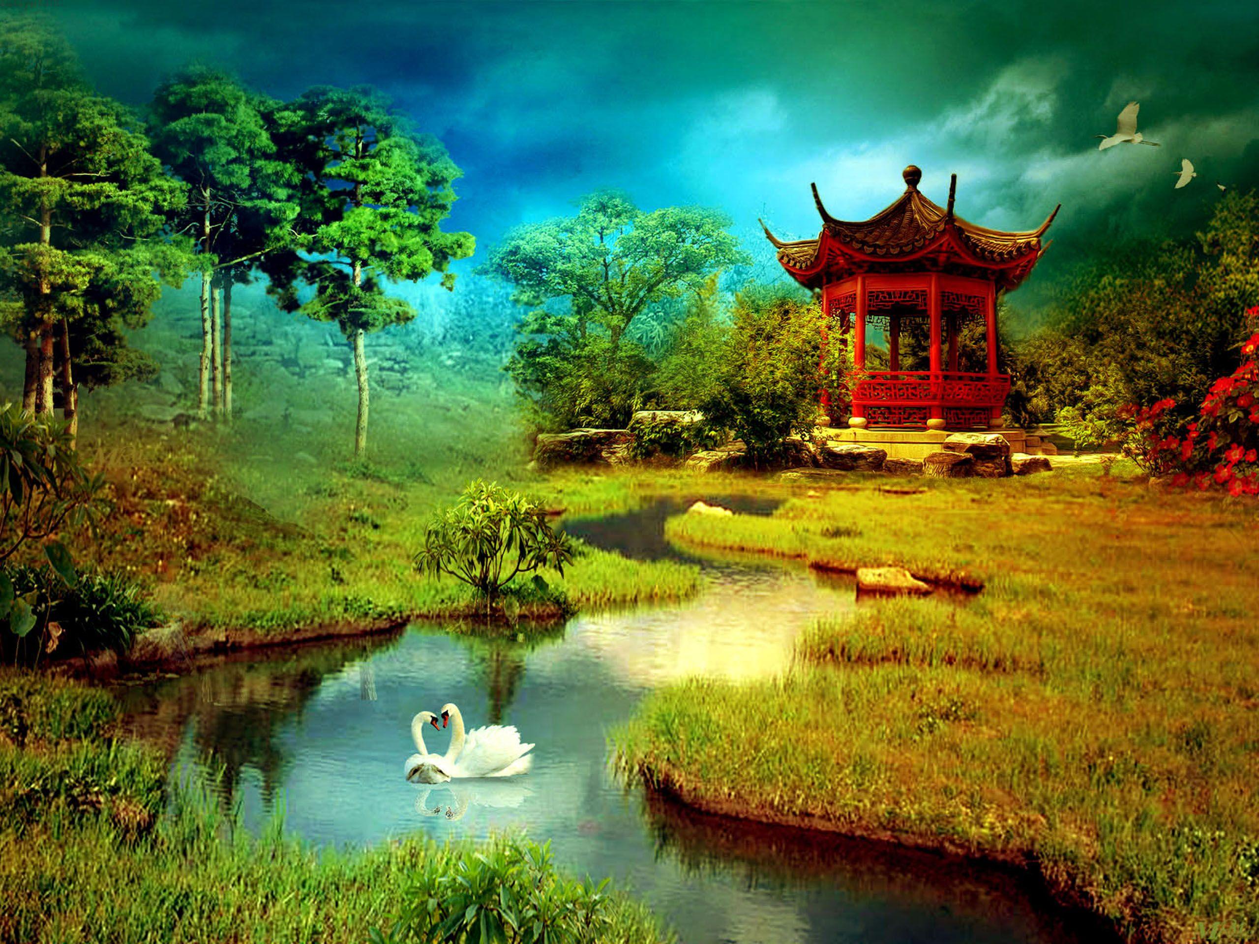 3d Wallpaper Nature Download 1092 Full HD Wallpaper Desktop 2560x1920