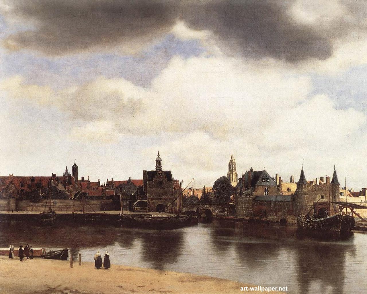 Jan Vermeer Wallpapers Painting Wallpaper 1280x1024