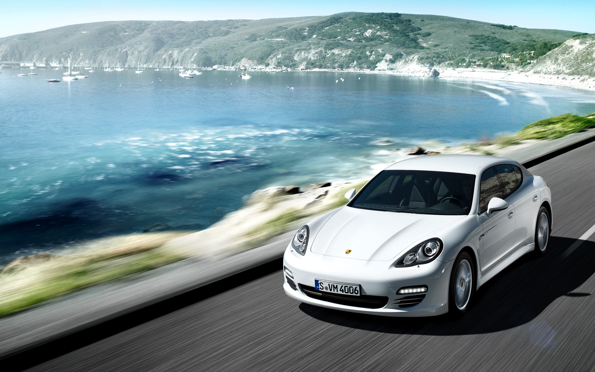Porsche Panamera Diesel Wallpaper HD Car Wallpapers 1920x1200