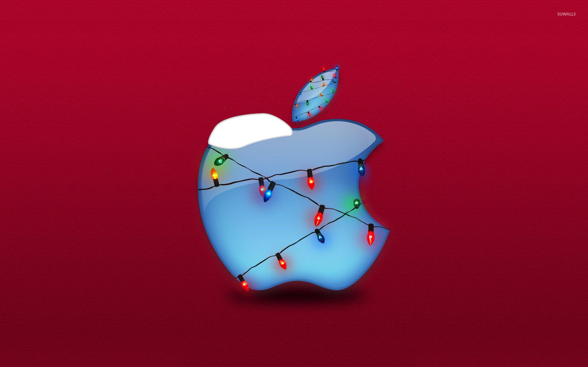 Christmas lights Apple wallpaper   Computer wallpapers   34716 1920x1200