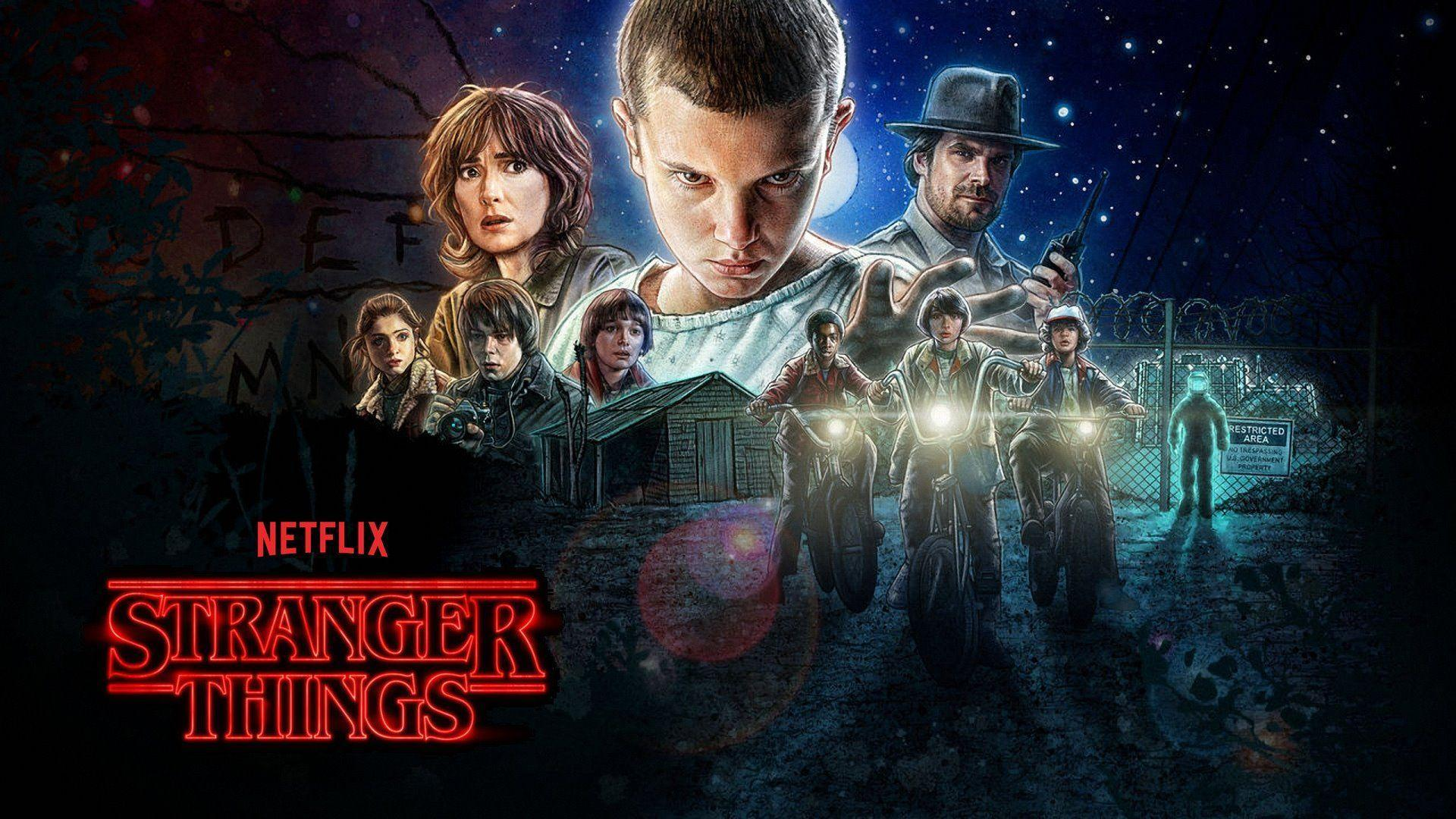 Stranger Things Wallpapers 1920x1080