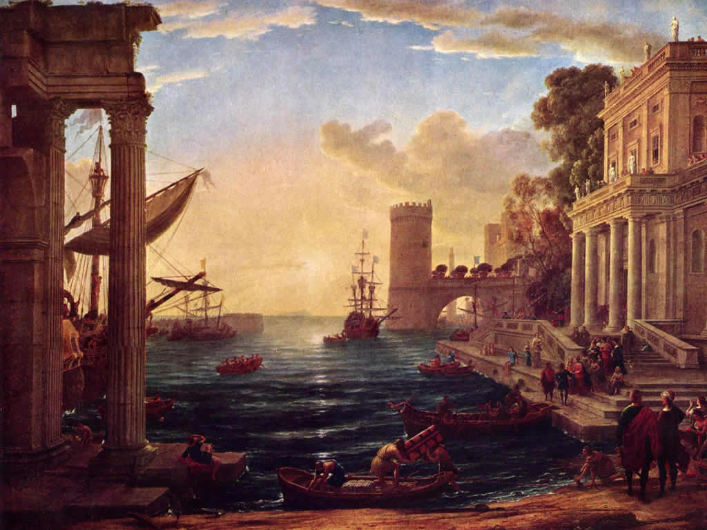 World Famous Paintings Fine Art Painting Wallpaper with introduction 1024x768
