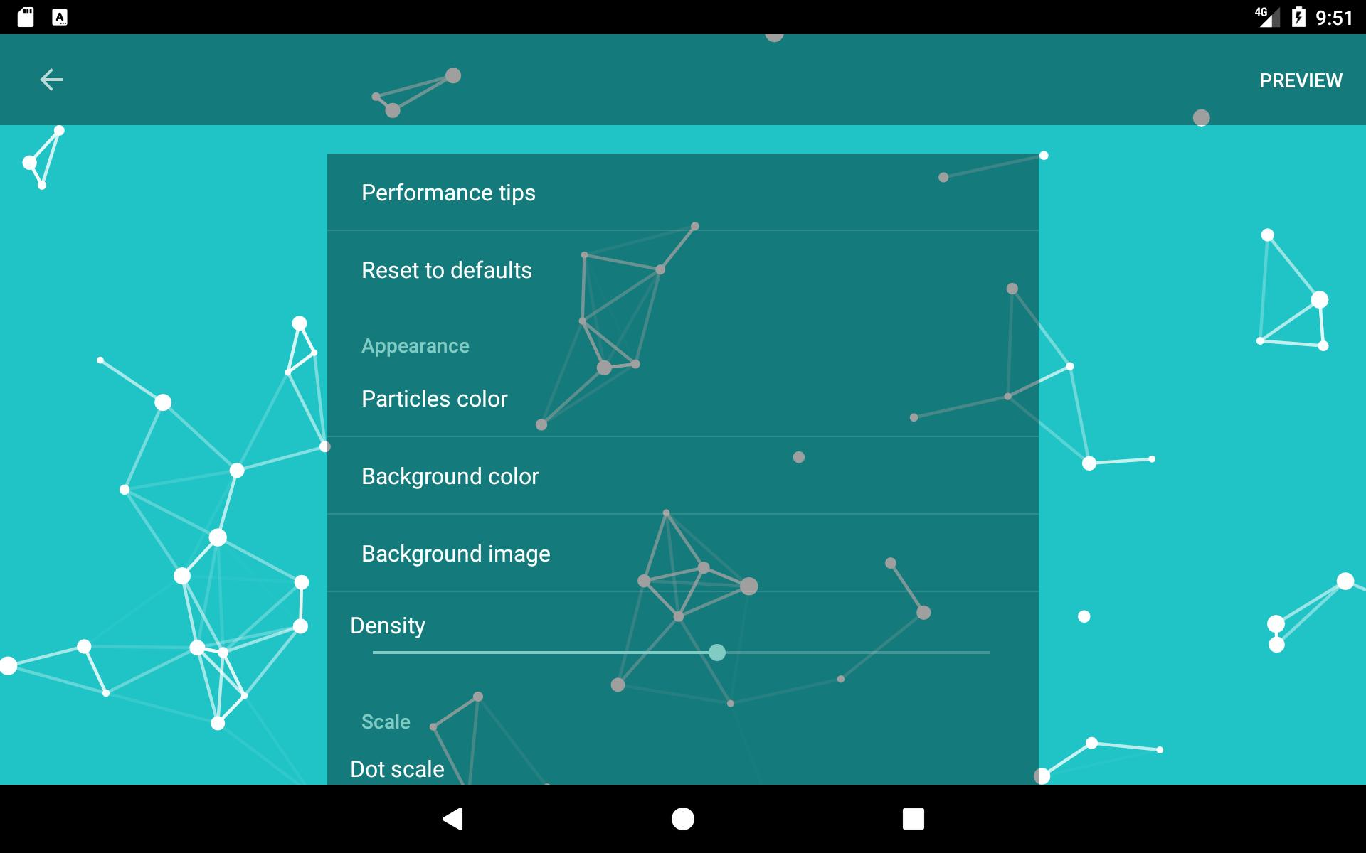 Particle Constellations Live Wallpaper for Android   APK Download 1920x1200
