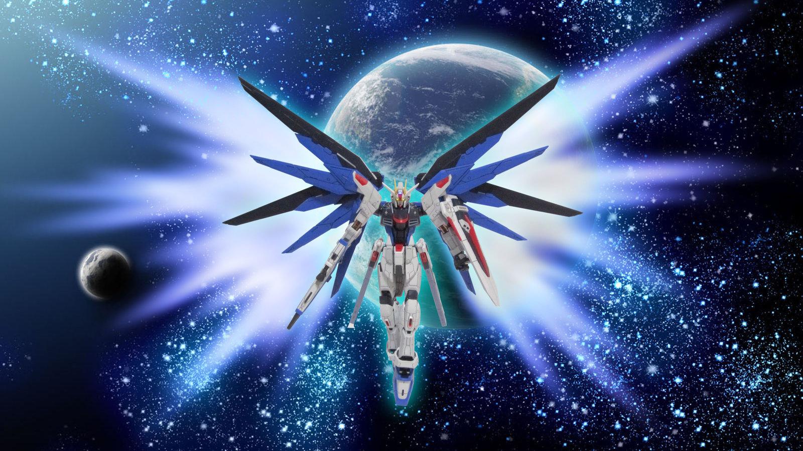 Freedom Gundam by RepX105 1600x900