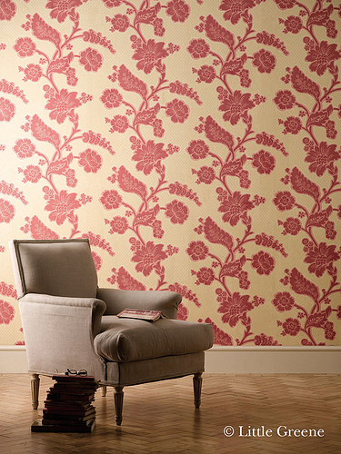 London Wallpapers Soho square Bronze Red Were very happy 375x500
