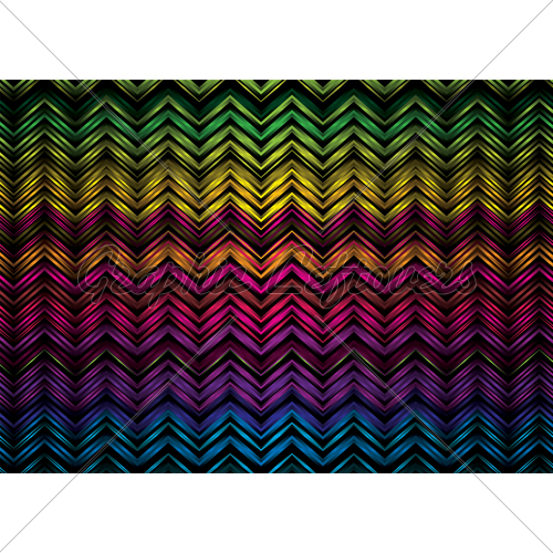 Colorful Rainbow Zig Zag Effect Ideal As A Desk 500x500