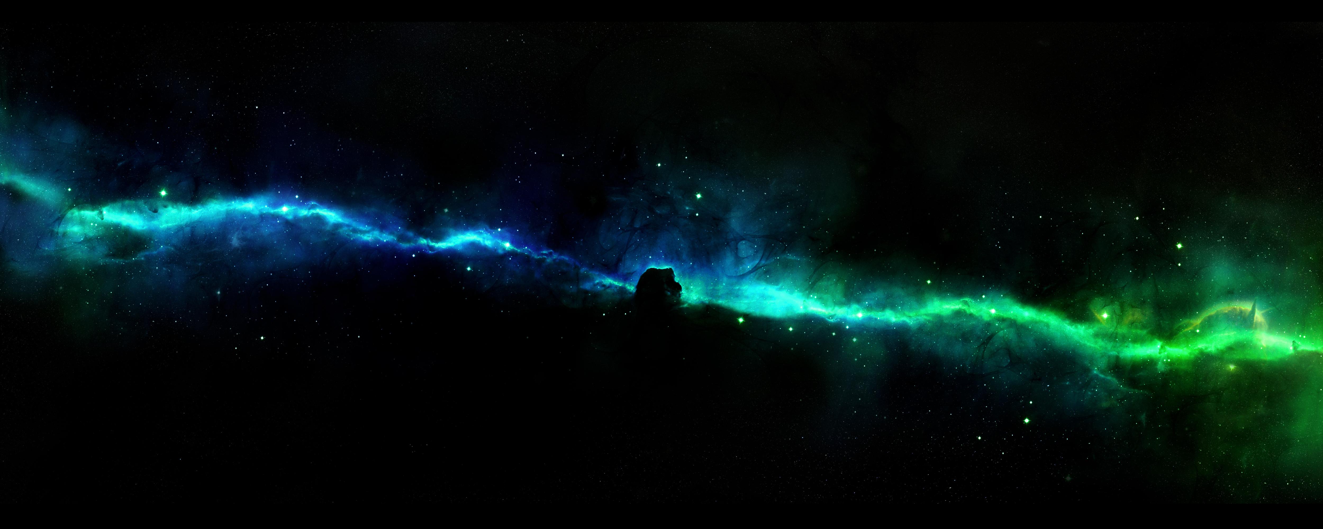Space Panoramic Wallpaper - WallpaperSafari